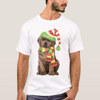 Happy Howlidays Chocolate Lab T-Shirt