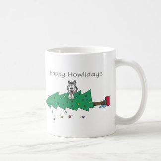 Happy Howlidays Coffee Mug