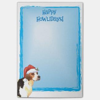 Happy Howlidays English Foxhound Post-it® Notes