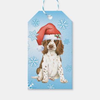 Happy Howlidays English Springer Spaniel Gift Tags