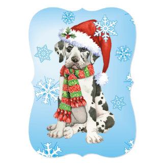 Happy Howlidays Great Dane Card