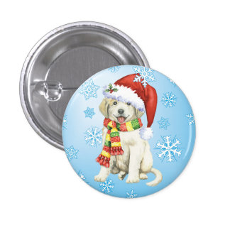 Happy Howlidays Great Pyrenees Button