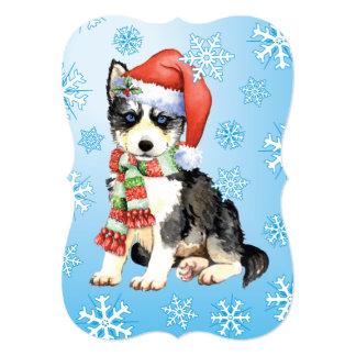 Happy Howlidays Husky Card