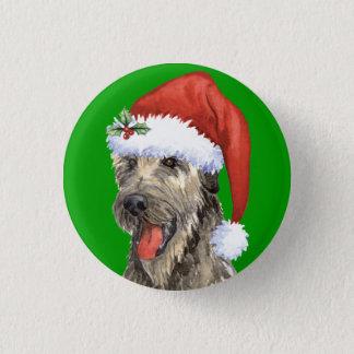 Happy Howlidays Irish Wolfhound Button
