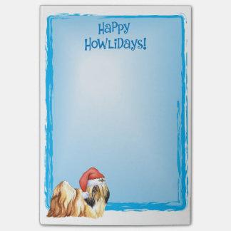 Happy Howlidays Lhasa Apso Post-it® Notes