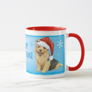 Happy Howlidays Norfolk Terrier Mug