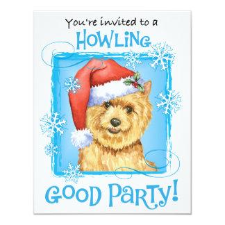 Happy Howlidays Norwich Terrier Card