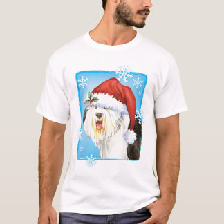 Happy Howlidays Old English Sheepdog T-Shirt