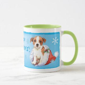 Happy Howlidays Parson Russell Terrier Mug