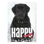 "Happy Howlidays Pet Christmas Photo Card 5"" X 7"" Invitation Card"