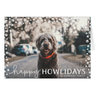 Bleeding greeting cards zazzle happy howlidays pet lover holiday greeting card m4hsunfo