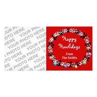 Happy Howlidays Custom Photo Card