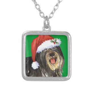 Happy Howlidays PON Silver Plated Necklace