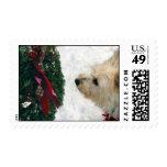 Happy Howlidays! Postage Stamp