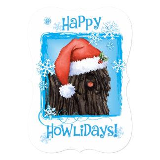 Happy Howlidays Puli Card