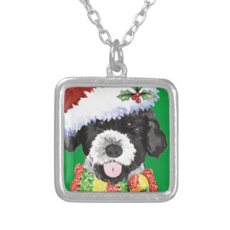 Happy Howlidays PWD Silver Plated Necklace