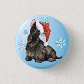 Happy Howlidays Scottish Terrier Pinback Button