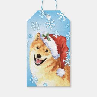 Happy Howlidays Shiba Inu Pack Of Gift Tags