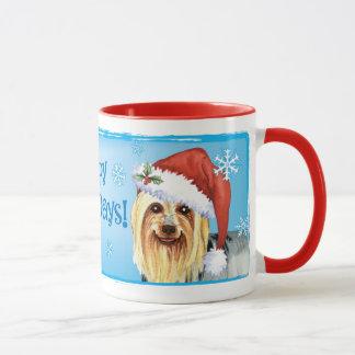 Happy Howlidays Silky Terrier Mug