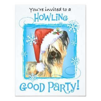 Happy Howlidays Skye Terrier Card