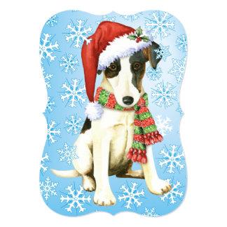 Happy Howlidays Smooth Fox Terrier Card