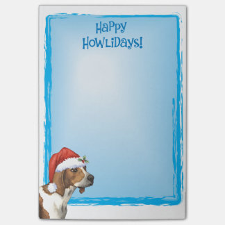 Happy Howlidays Treeing Walker Coonhound Post-it Notes