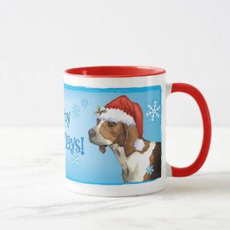 Happy Howlidays Treeing Walker Mug