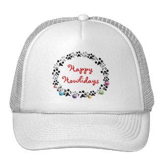 Happy Howlidays Trucker Hat