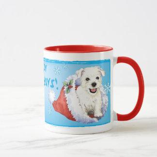 Happy Howlidays Westie Mug