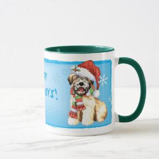 Happy Howlidays Wheaten Mug