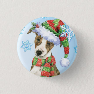 Happy Howlidays Whippet Pinback Button