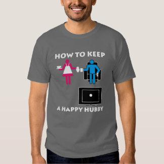 Happy Hubby Dark Tee Shirt