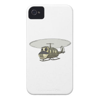 Happy Huey Helicopter Cartoon iPhone 4 Cover