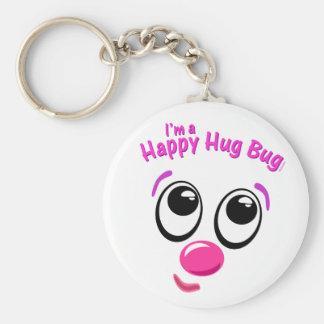 Happy Hug Bug Keychain