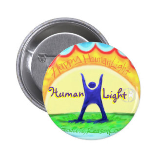 Happy HumanLight 2 Inch Round Button