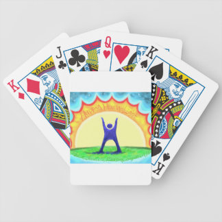 Happy HumanLight.jpg Bicycle Playing Cards