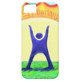 Happy HumanLight.jpg iPhone SE/5/5s Case