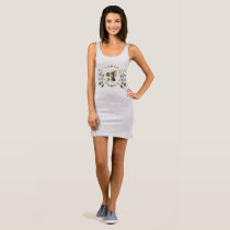 Happy Humming Bird Spirit Animal Tank Dress
