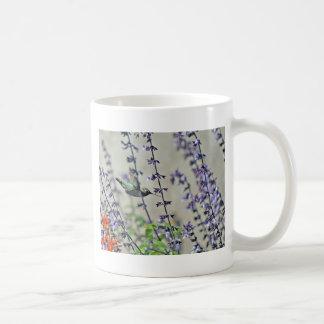 Happy Hummingbird II Classic White Coffee Mug