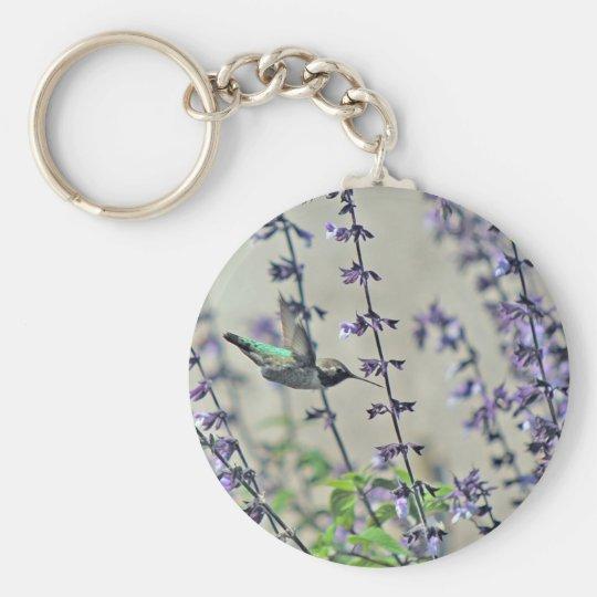 Happy Hummingbird II Keychain