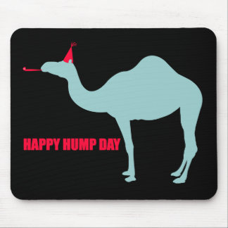 Happy Hump Day Camel Mouse Pad