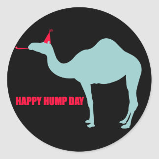 Happy Hump Day Camel Stickers