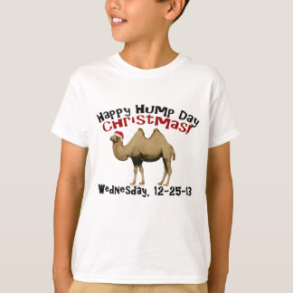 Happy Hump Day Christmas Funny Wednesday Camel T-Shirt