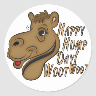 Happy Hump Day Woot Woot Stickers