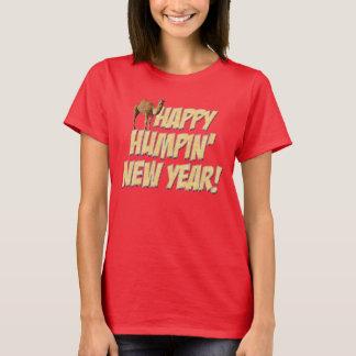 Happy Humpin New Year 2014 Hump Day Camel T-shirt