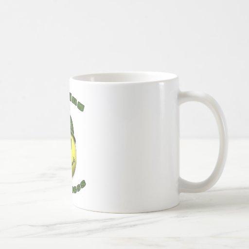 happy hunting classic white coffee mug
