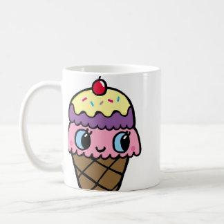 Happy Ice Cream Cone Coffee Mug