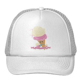 Happy Ice Cream Cone Trucker Hat