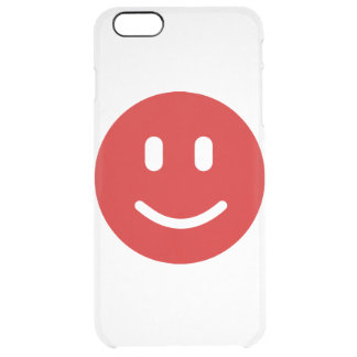 happy-icon-13 clear iPhone 6 plus case