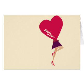 Happy in Love Card